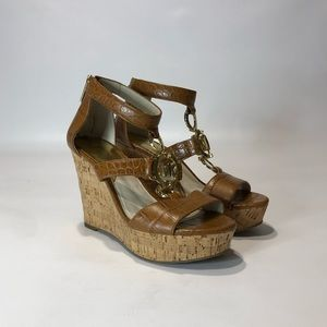 Michael Michael Kors Women's Hyden Wedge Sandal